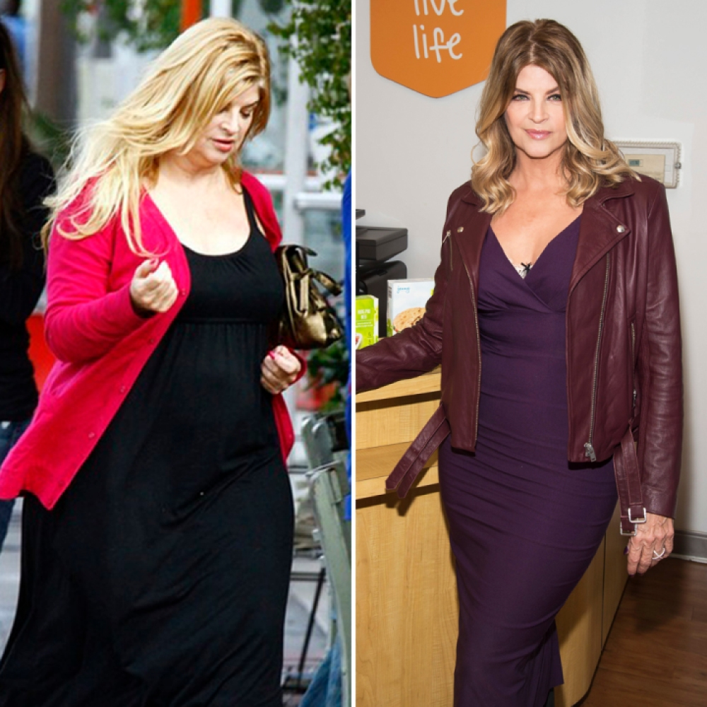 kirstie alley weight loss getty images jenny craig