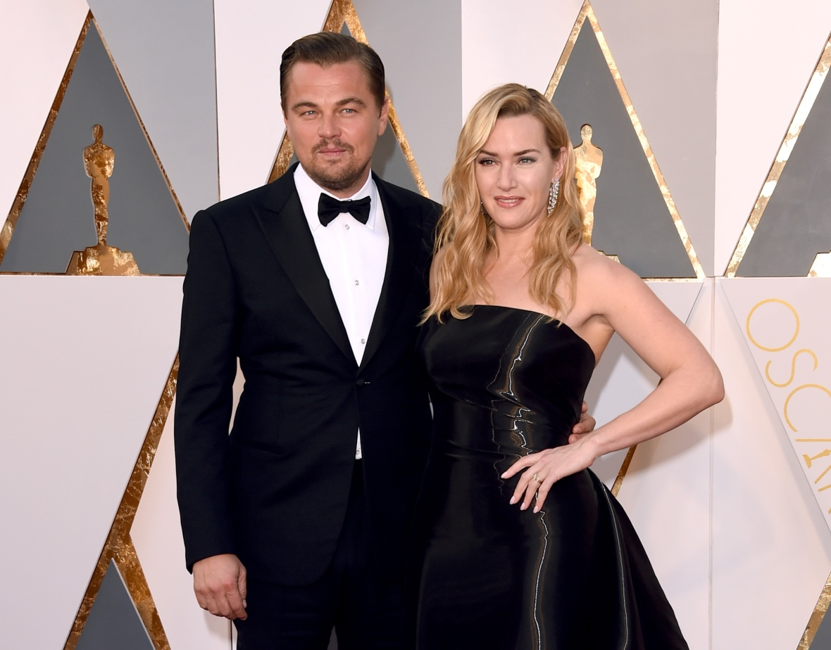 leonardo dicaprio kate winslet getty images