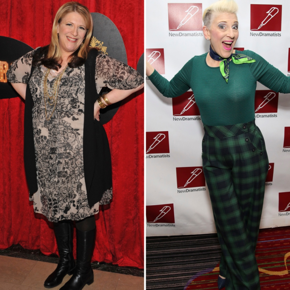 lisa lampanelli weight loss getty images