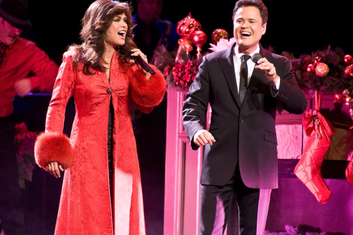 marie osmond donny osmond getty images