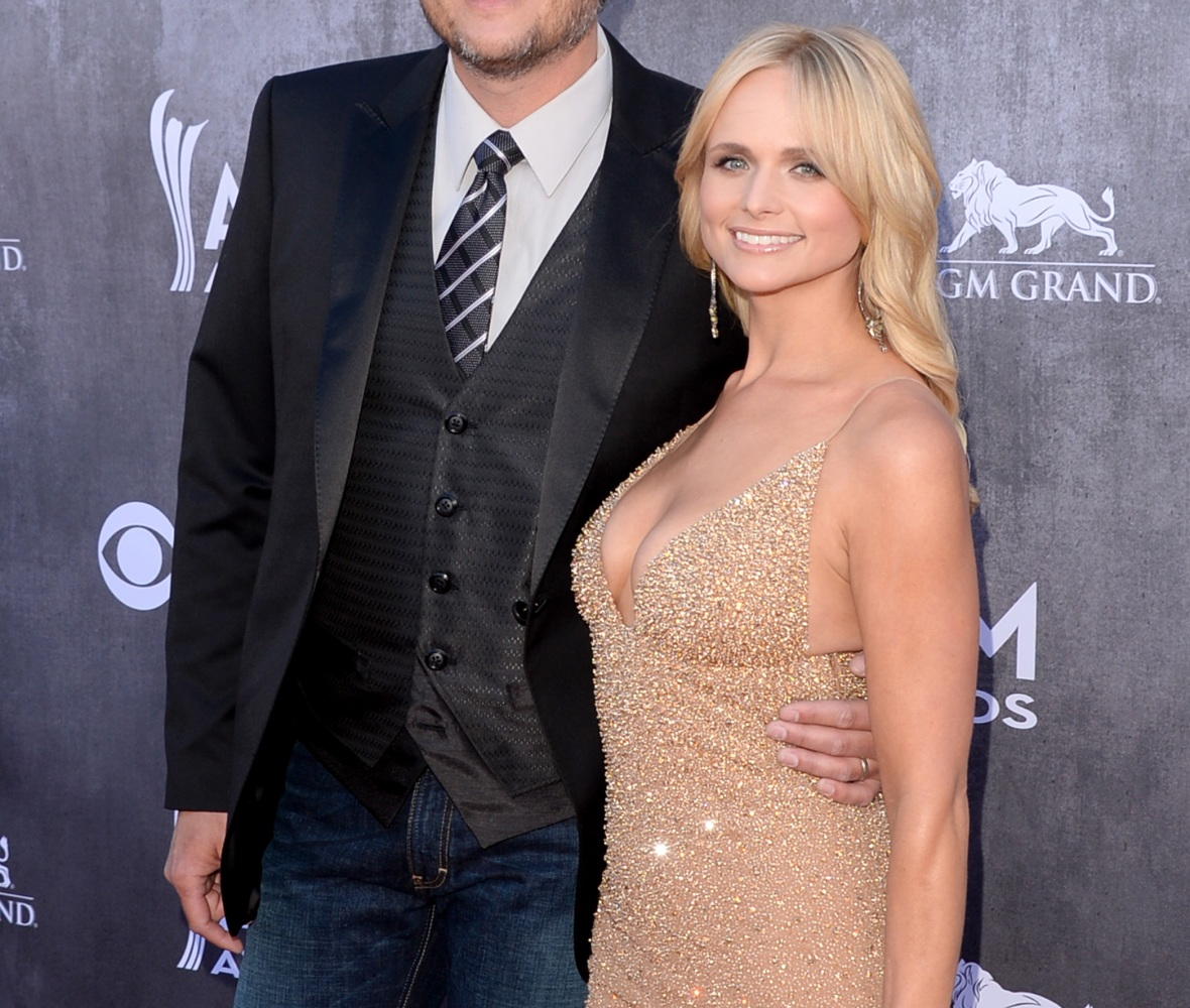 miranda lambert blake shelton getty images