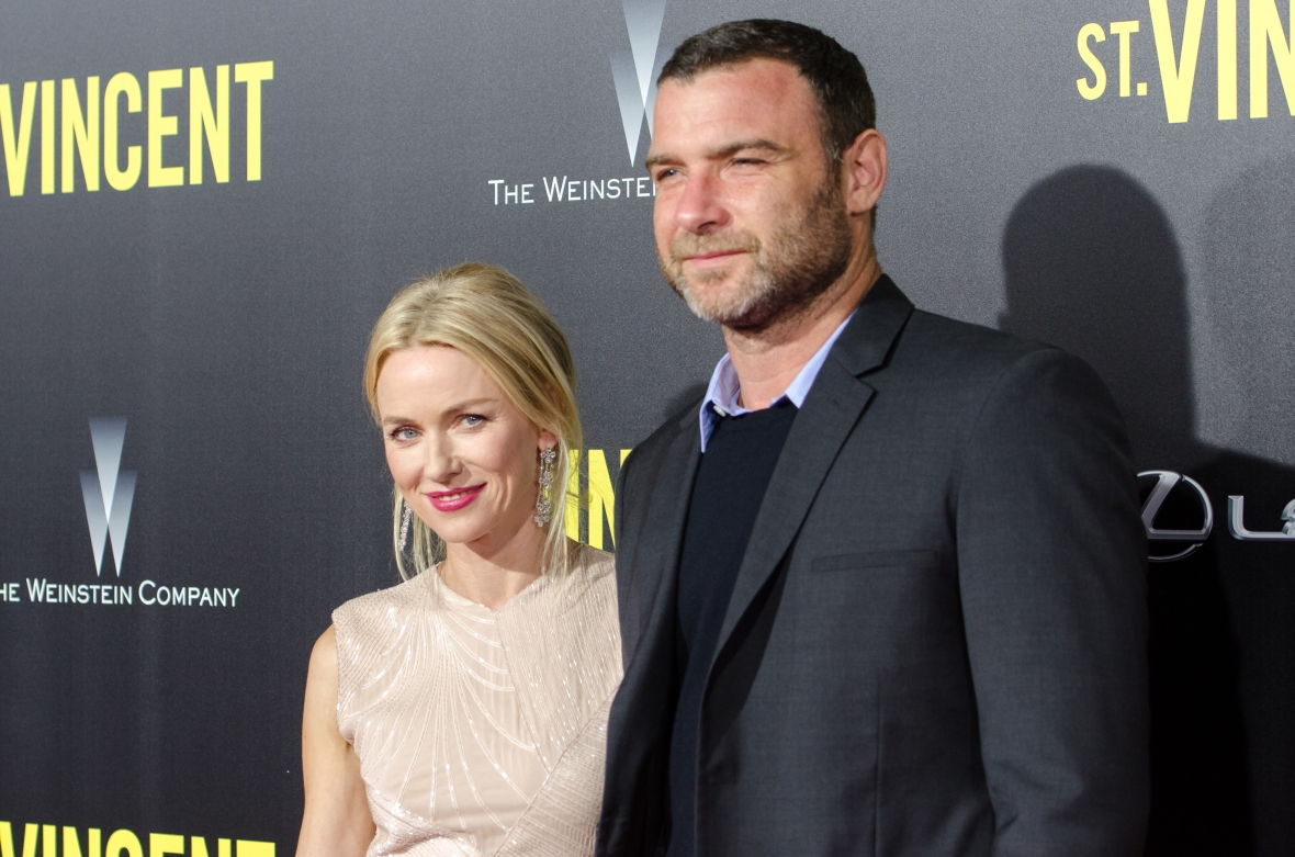 naomi watts liev schreiber getty images