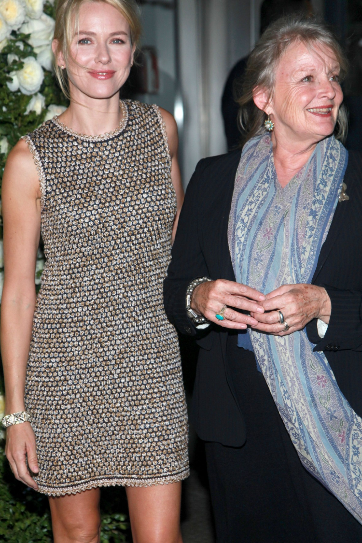 naomi watts and mother