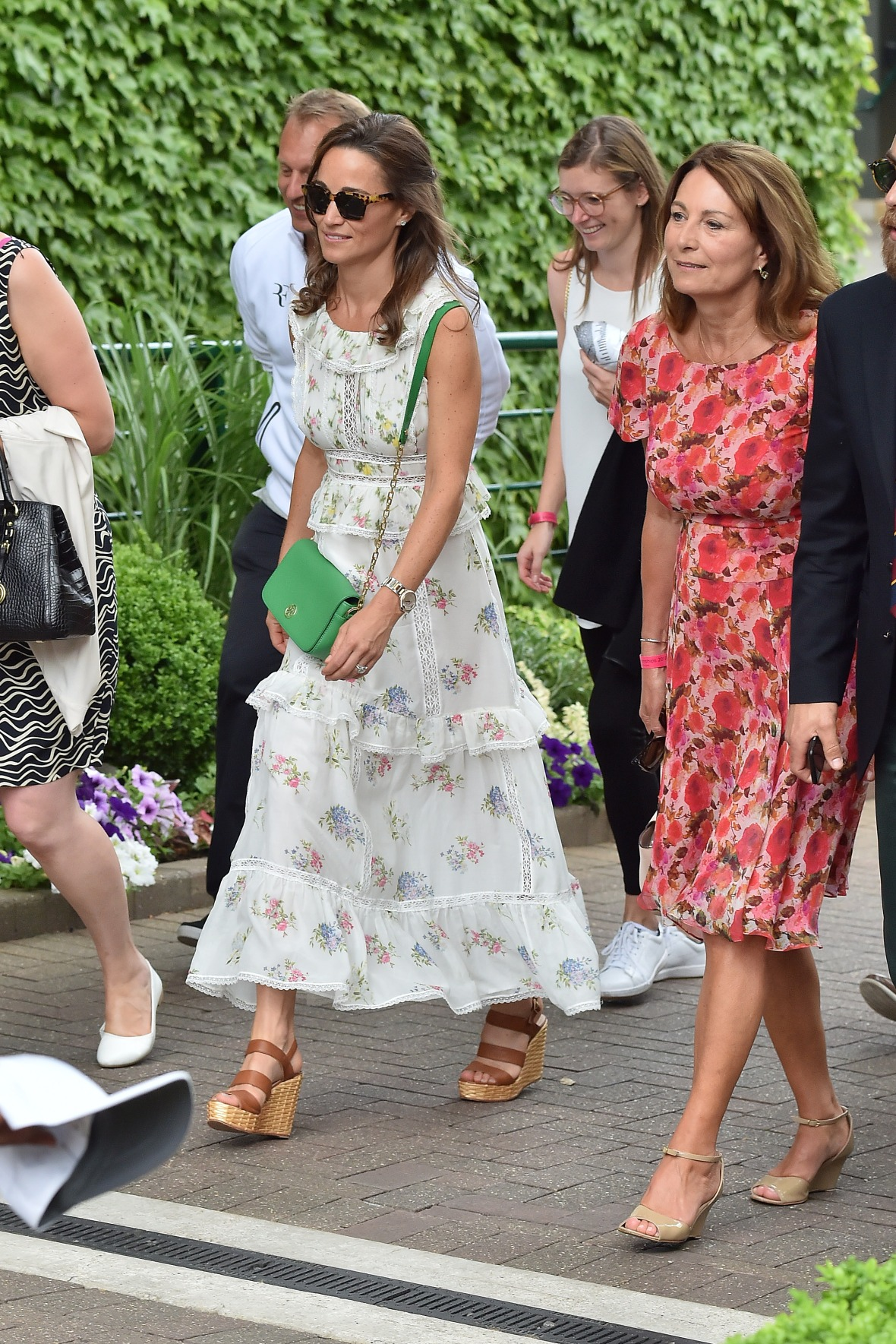 pippa middleton carole middleton getty images
