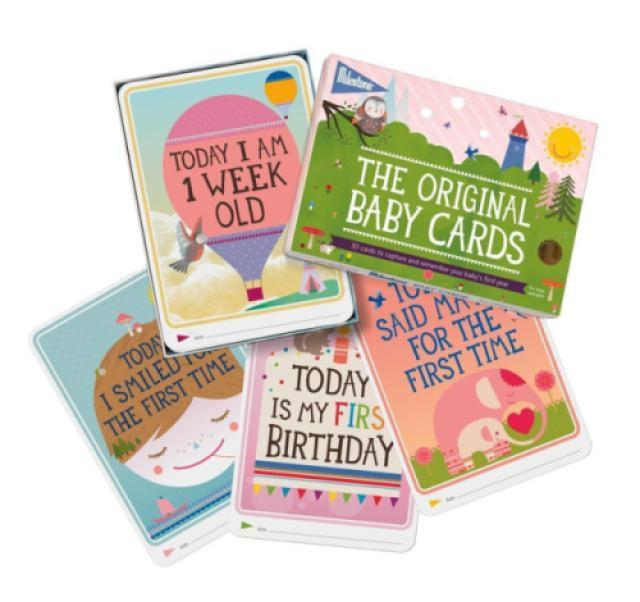 prime day 2017_closer - milestone - baby photo cards original - set of 30 photo cards to capture your baby's first year in weeks, months, and memorable moments