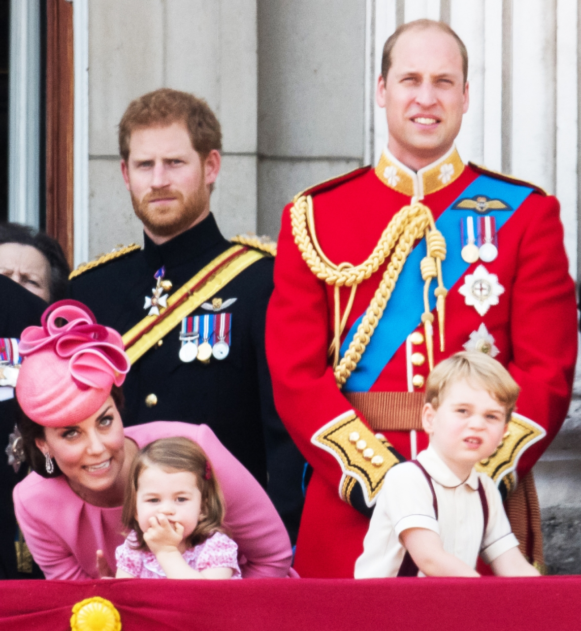 prince harry royal family getty images