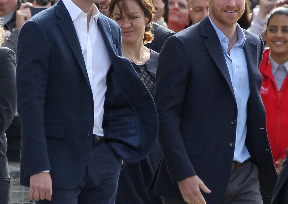 prince william and prince harry - getty
