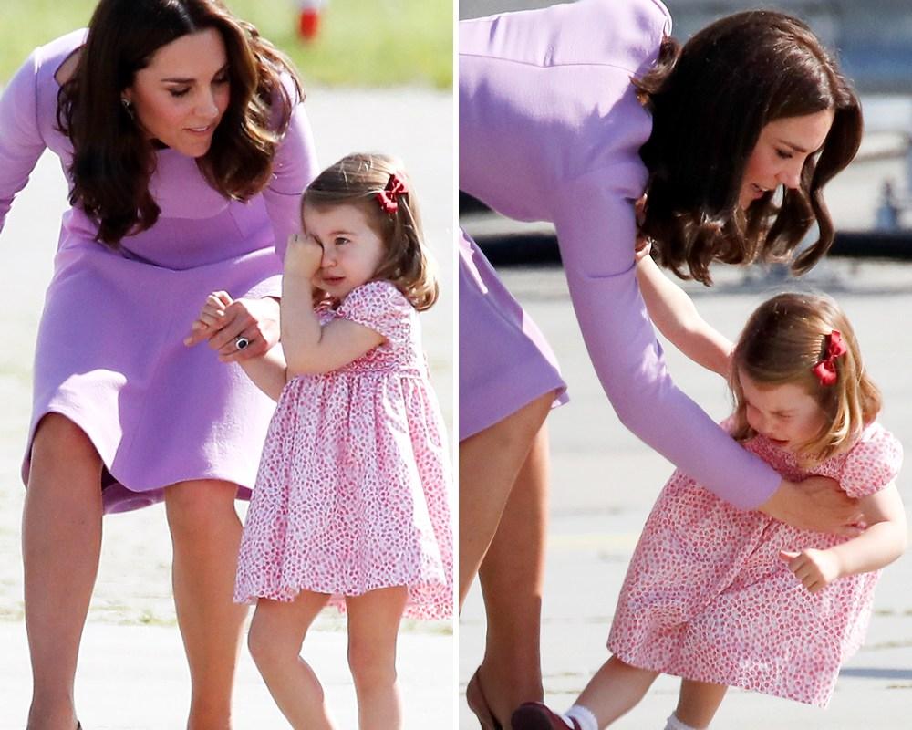 princess charlotte tantrum getty images