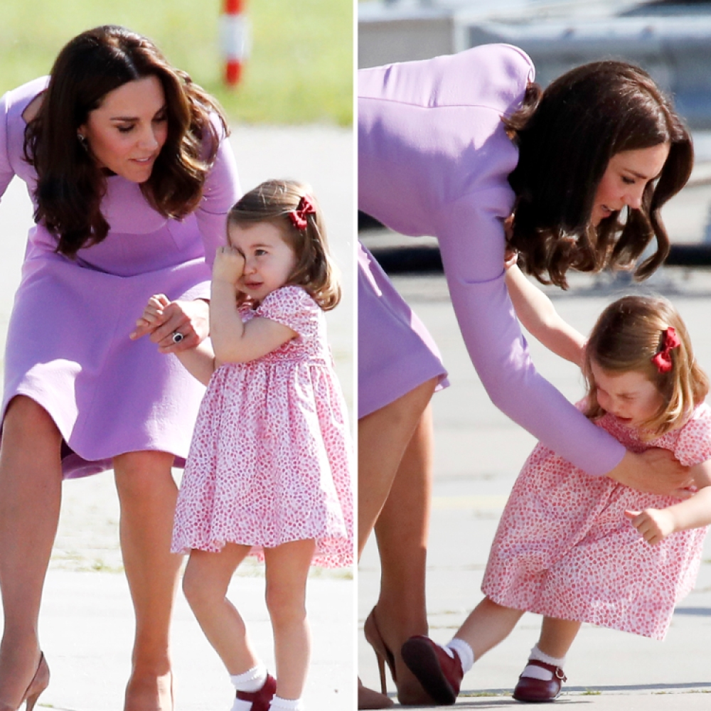 princess charlotte tantrum getty images