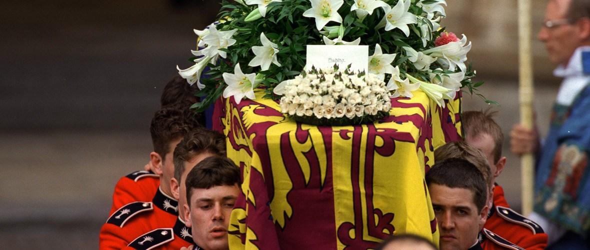 princess diana coffin