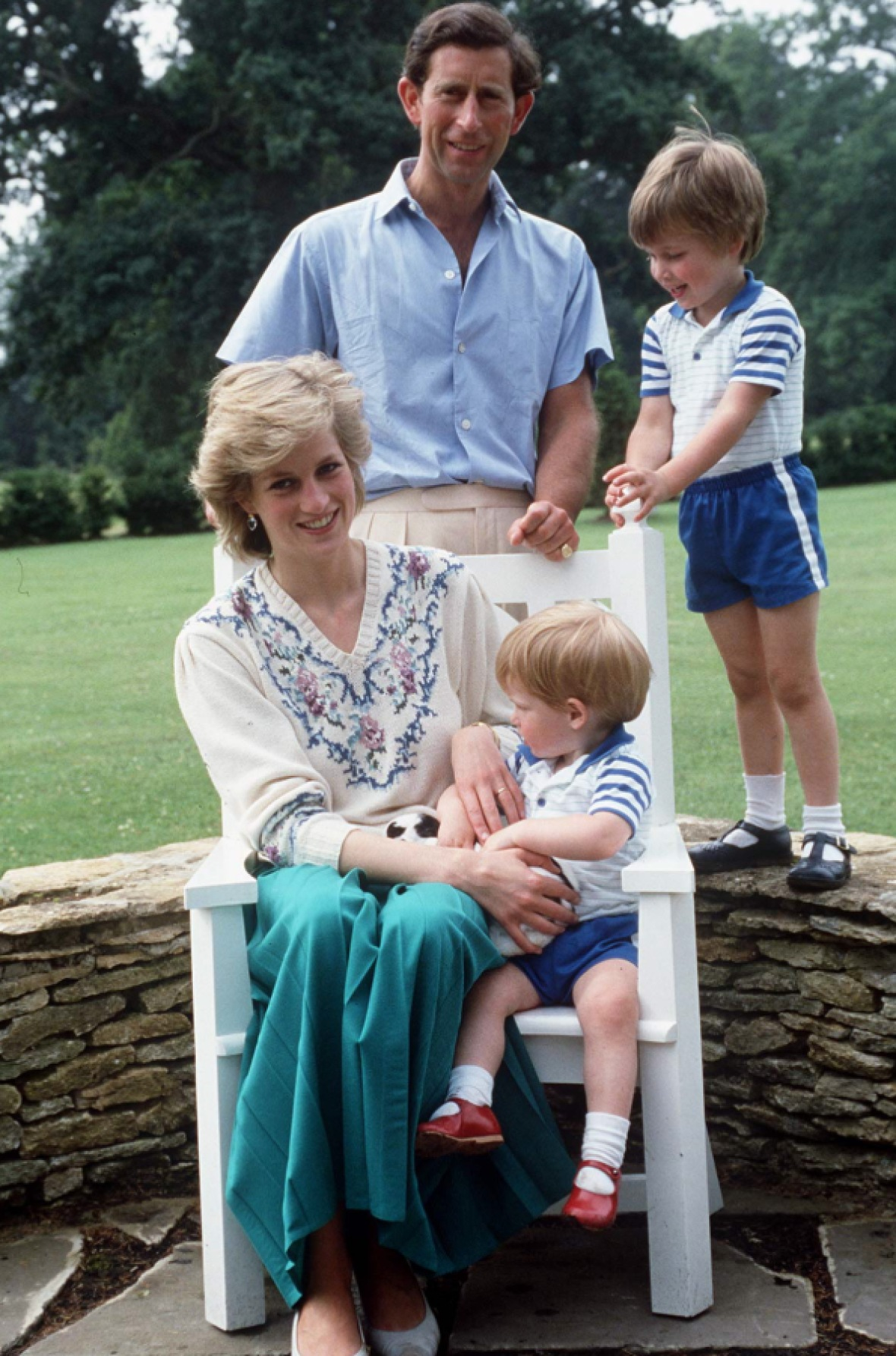 princess diana family getty images