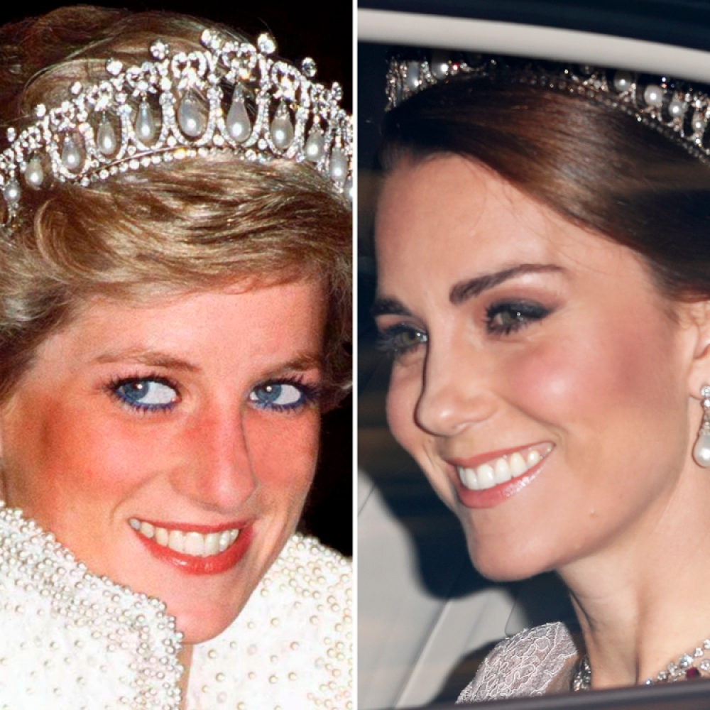 princess diana kate middleton getty images
