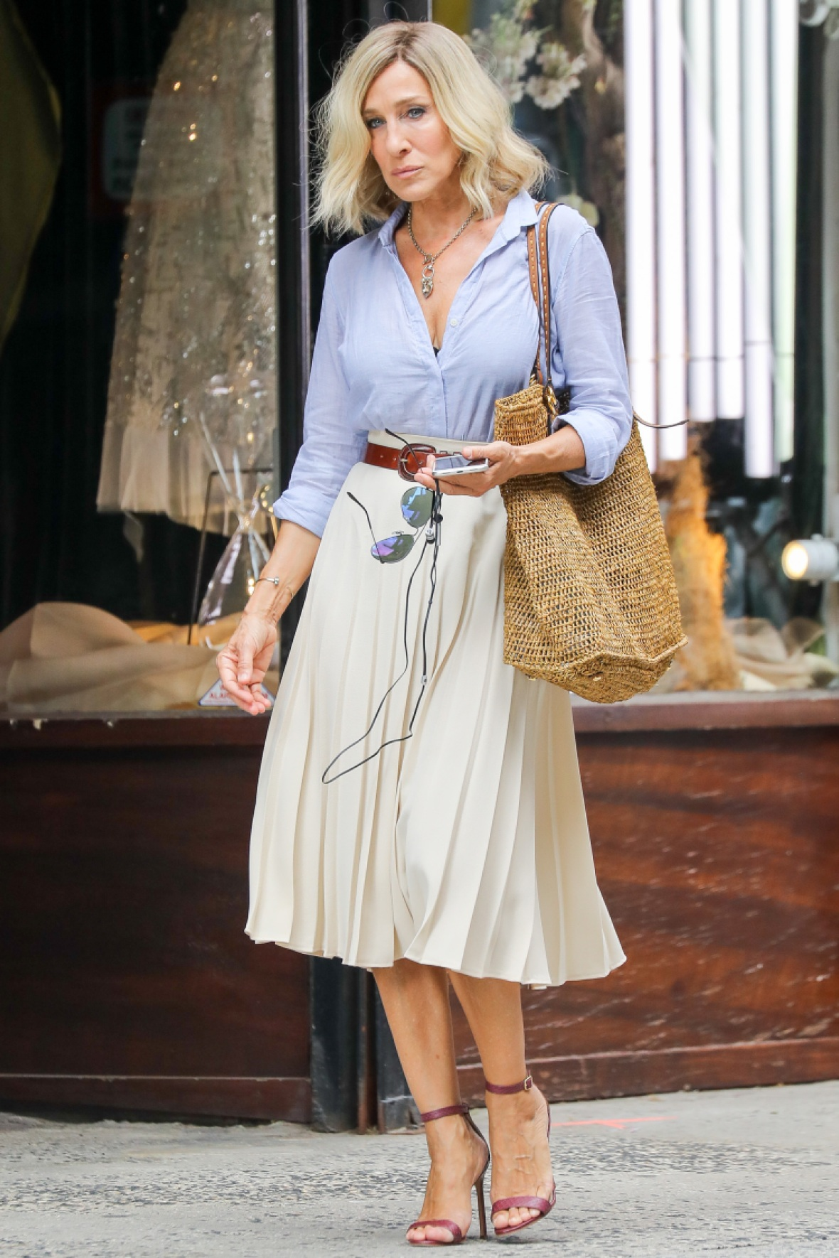 Sarah Jessica Parker Debuts Short Hair For Upcoming Movie Role