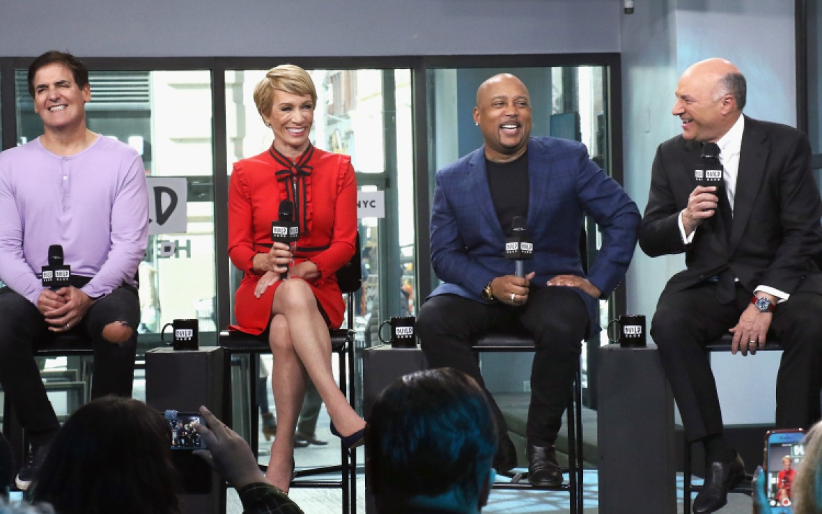 shark tank cast - getty