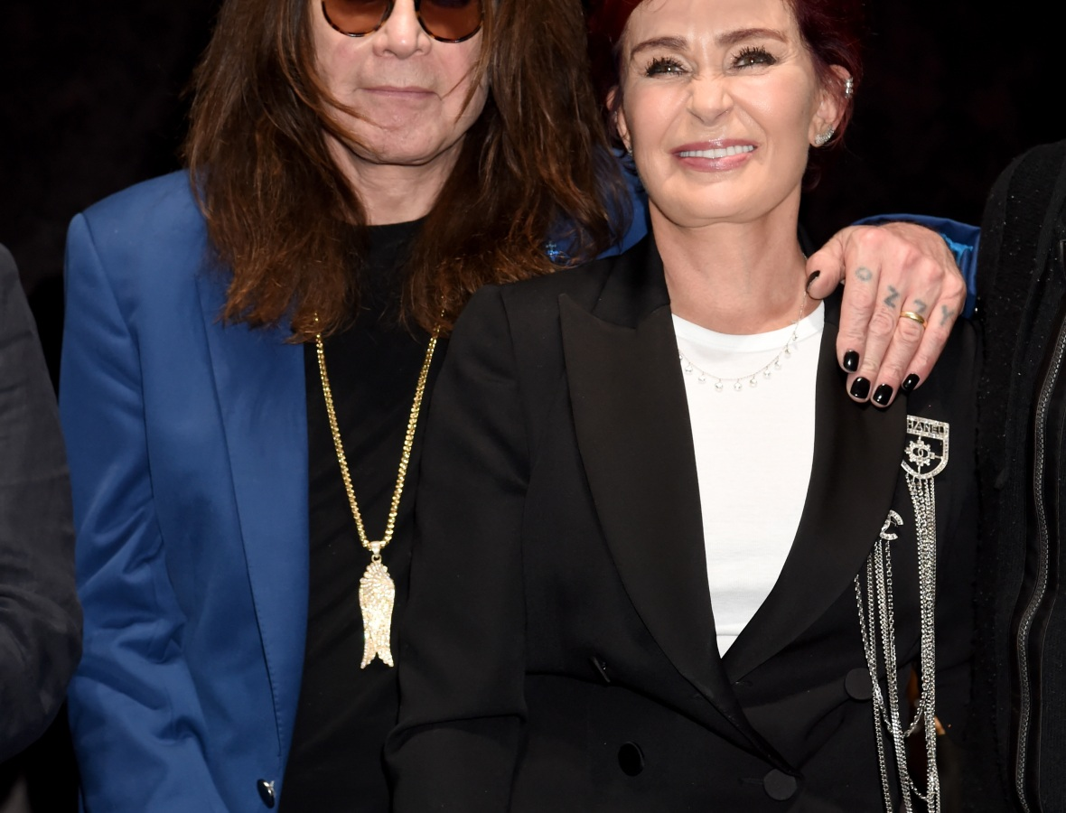 osbournes - getty