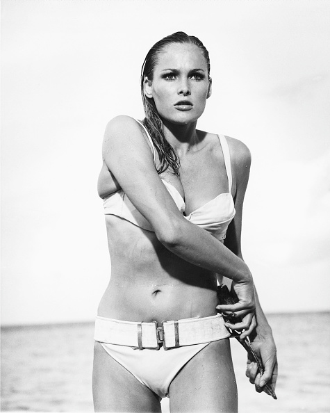 ursula andress in dr. no getty