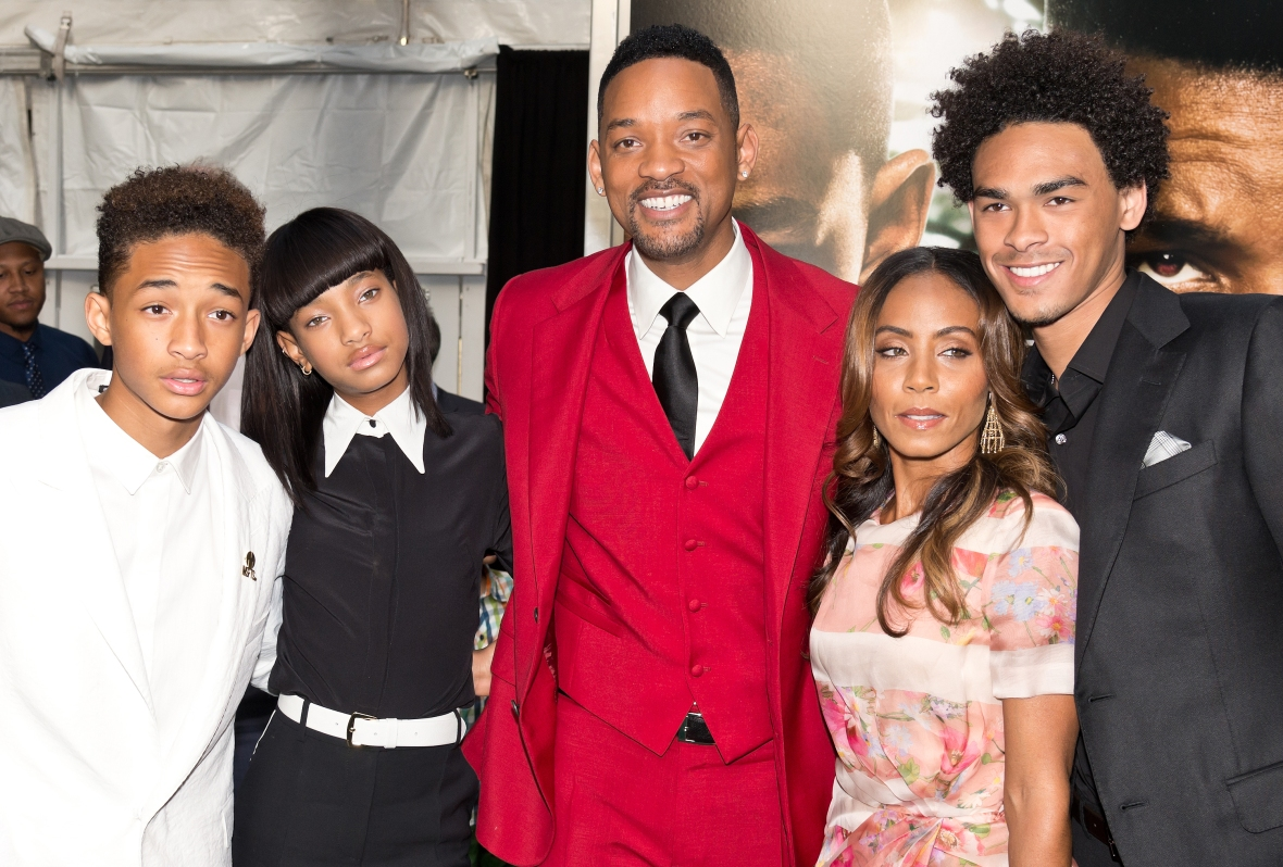 will smith family getty images