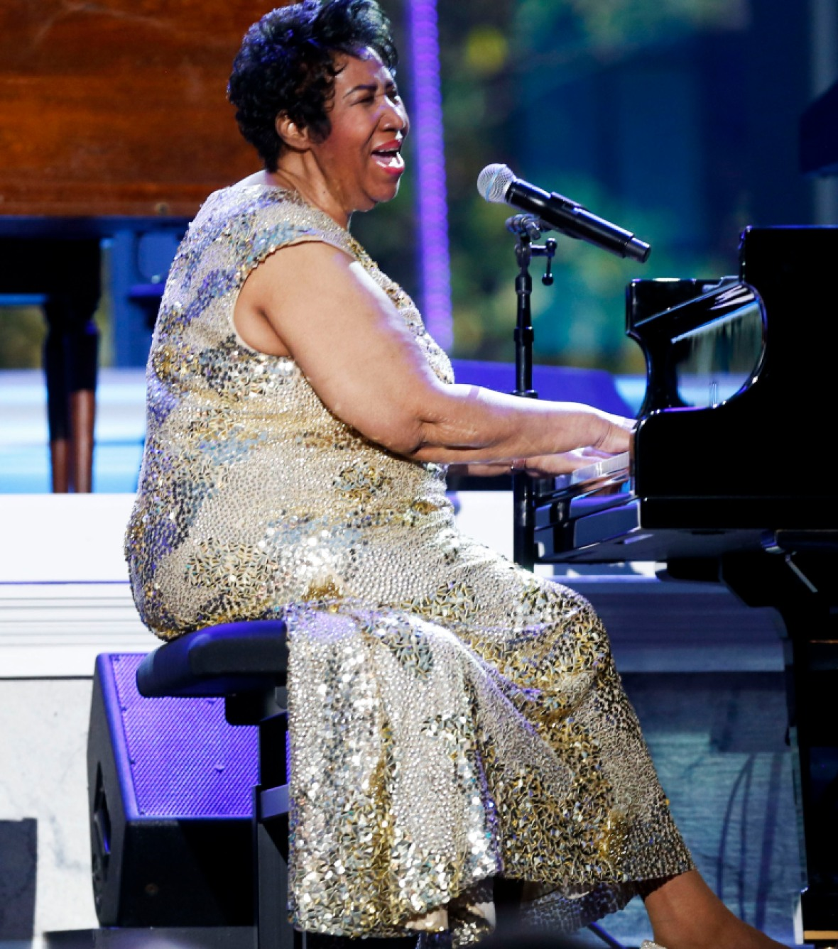 aretha franklin getty images