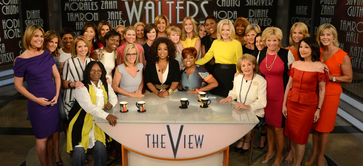 barbara walters the view - getty