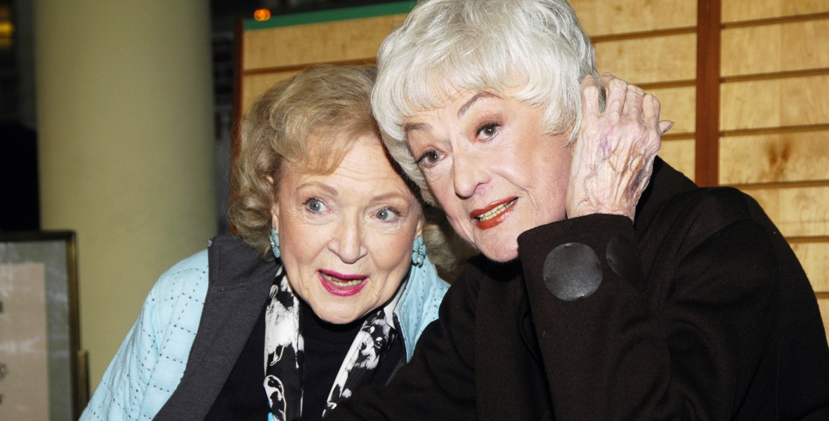 betty white bea arthur getty images