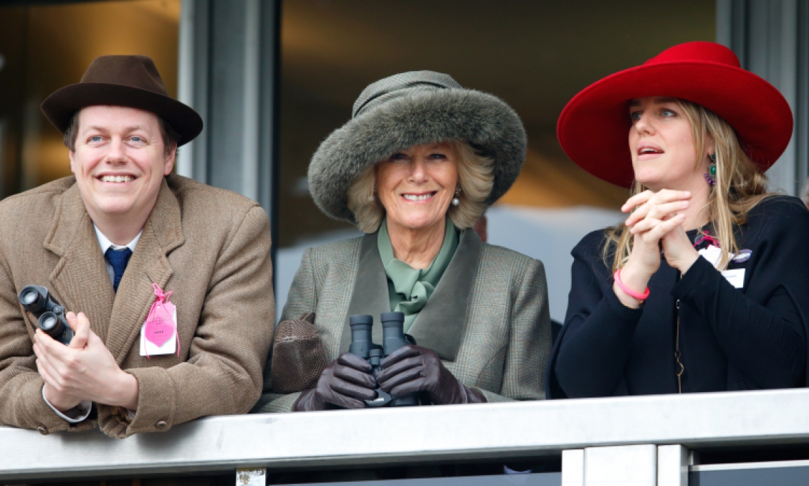 camilla duchess of cornwall, tom parker bowles, laura lopes getty