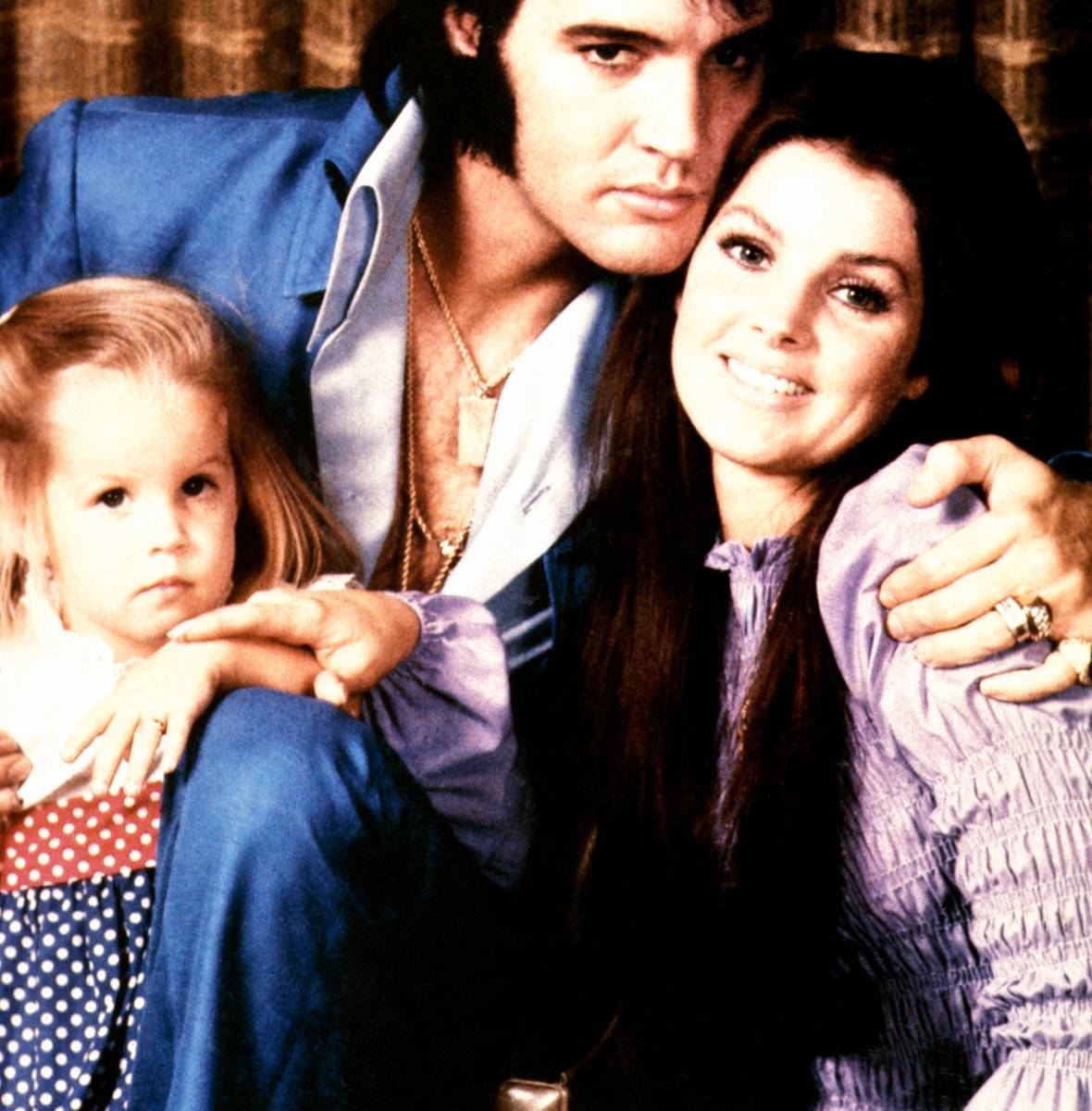 elvis presley family