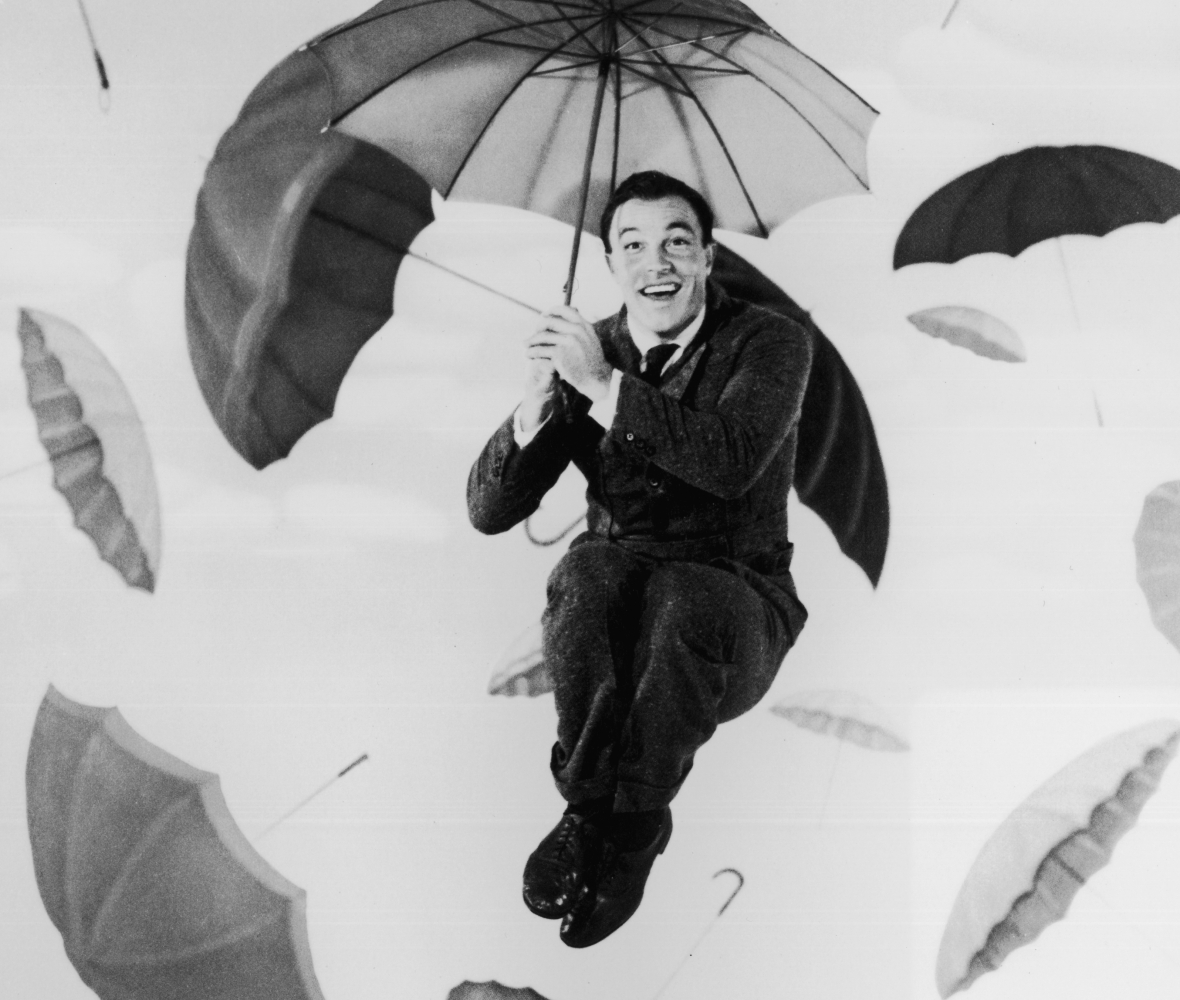 gene kelly 'singin' in the rain' getty images
