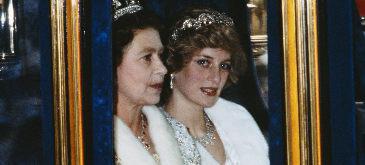 princess diana queen elizabeth