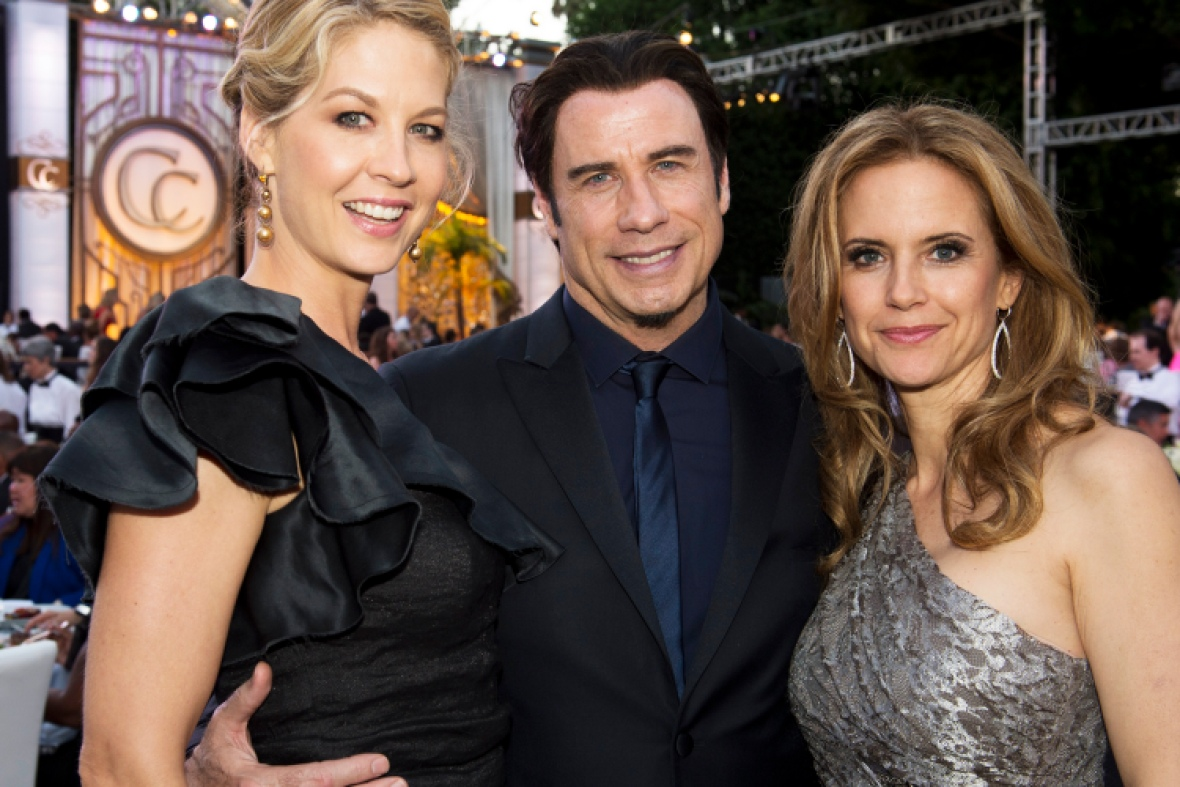 john travolta kelly preston jenna elfman getty images