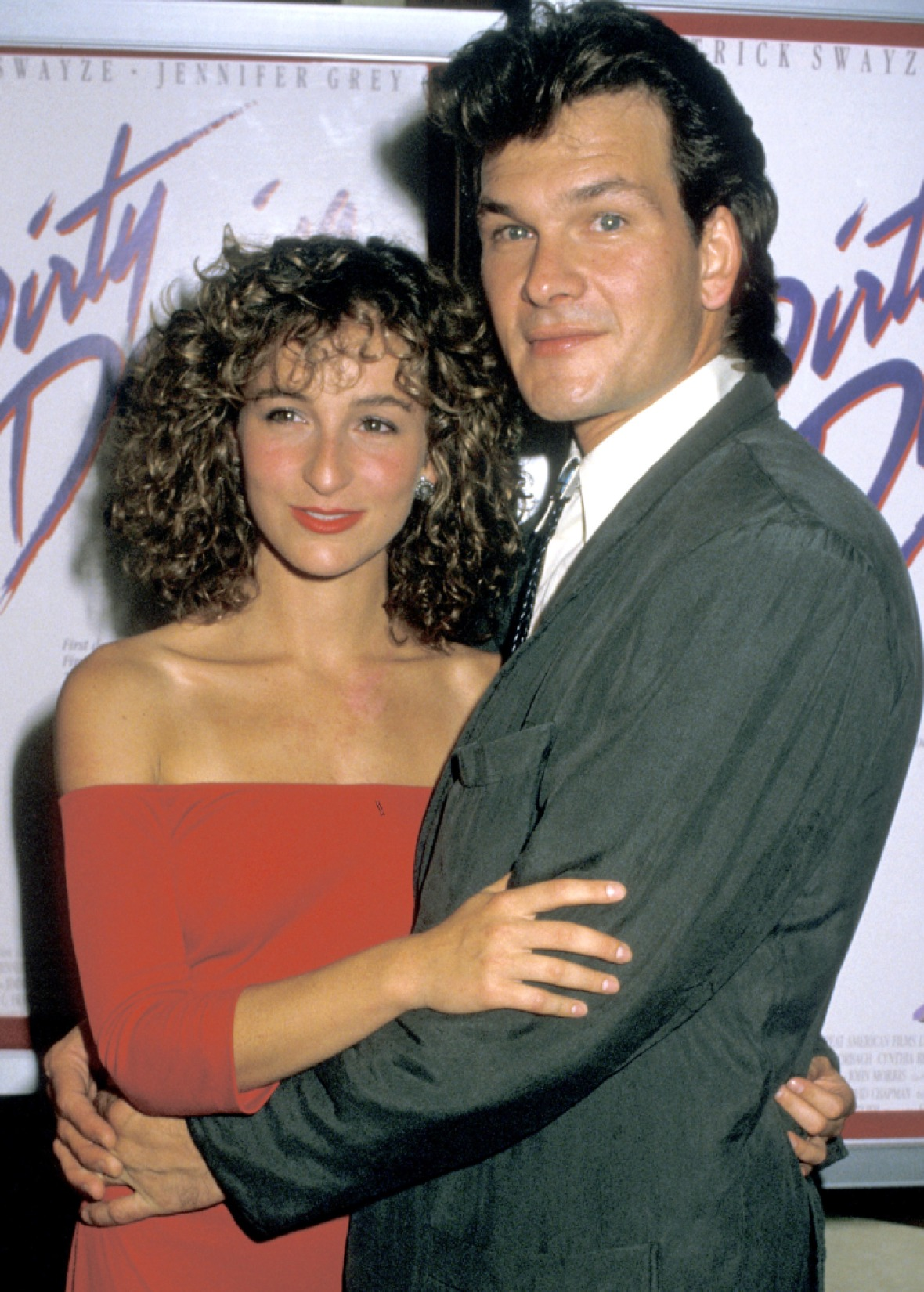 jennifer grey patrick swayze getty images