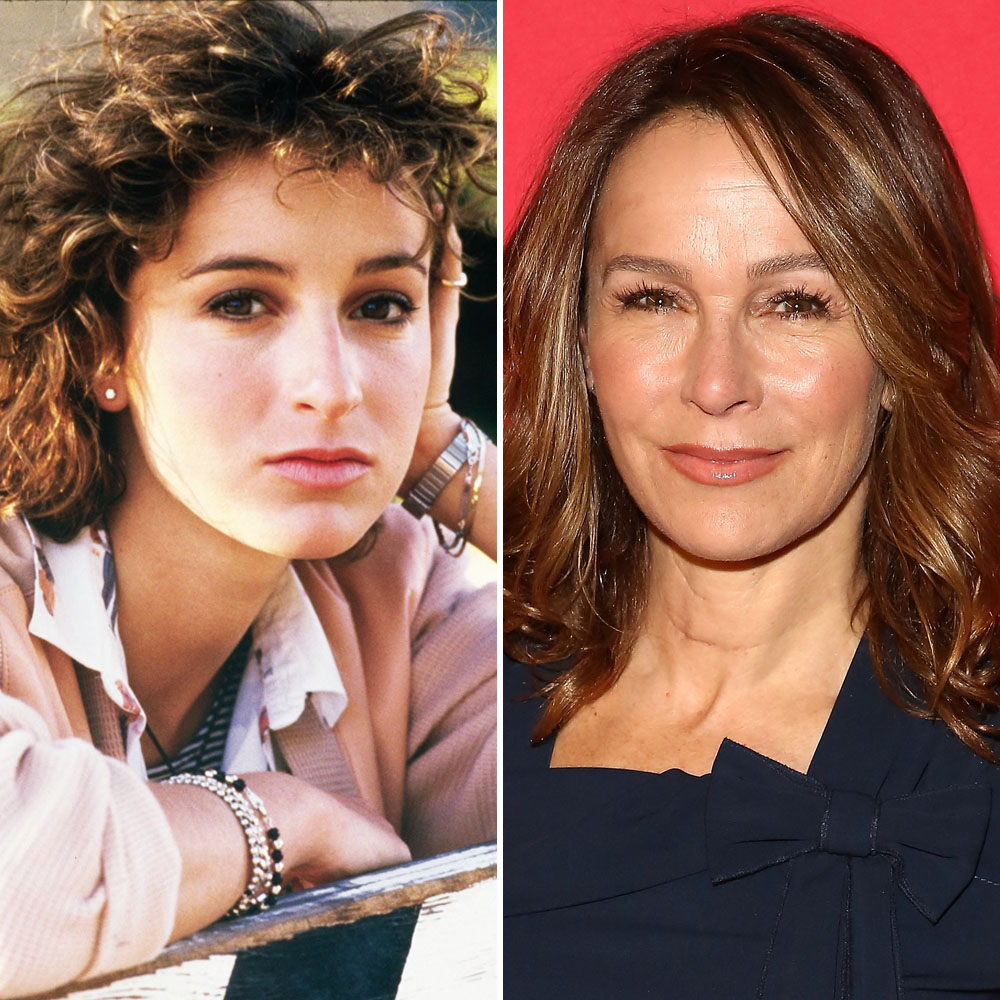 Jennifer Grey Dishes On Her Iconic Dirty Dancing Lift With Late