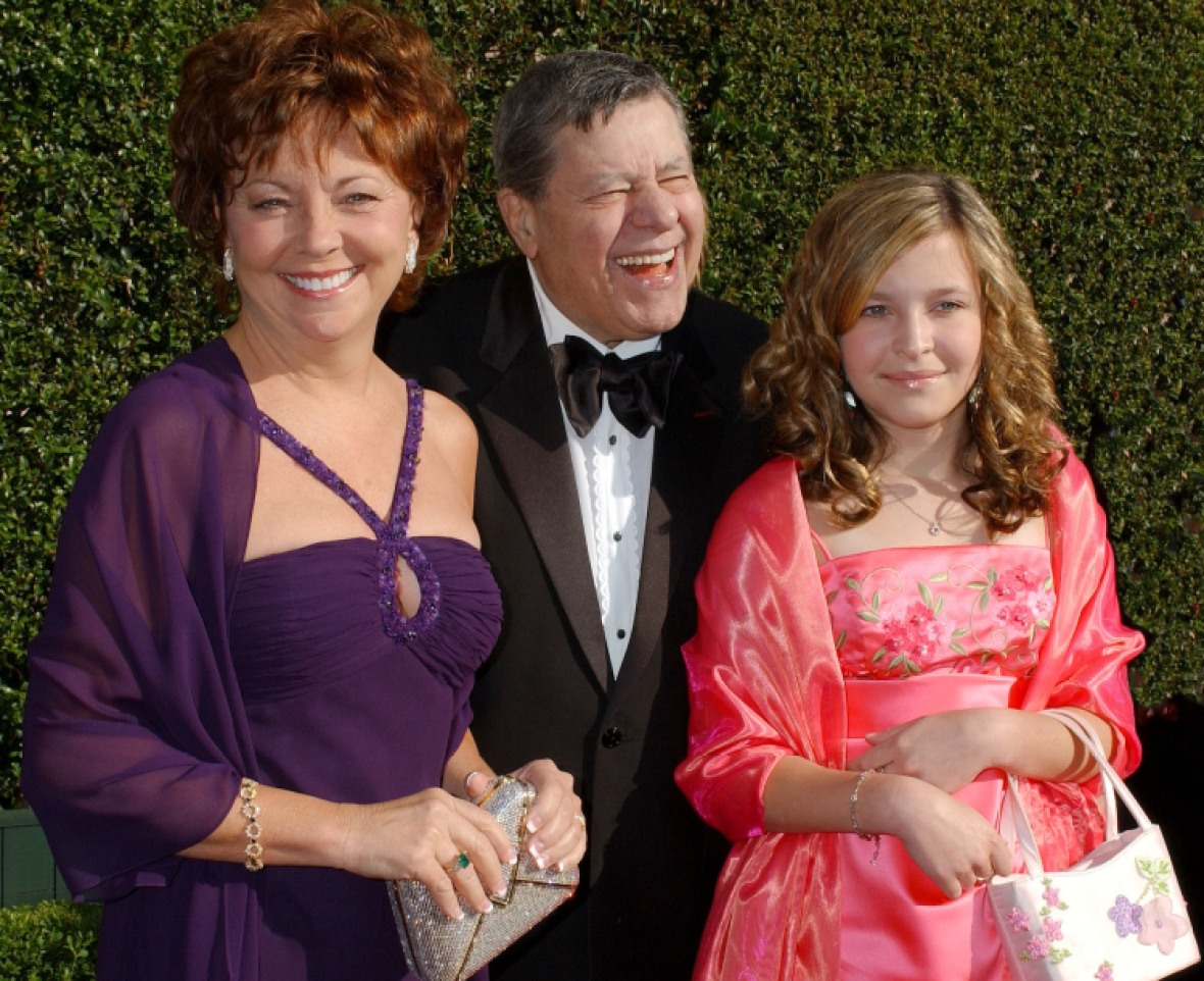 jerry lewis daughter getty images