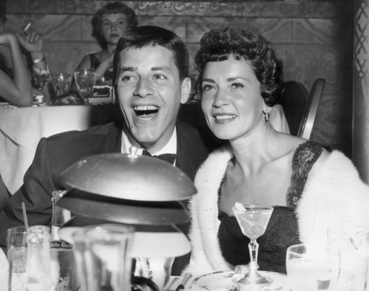 jerry lewis patti palmer getty images
