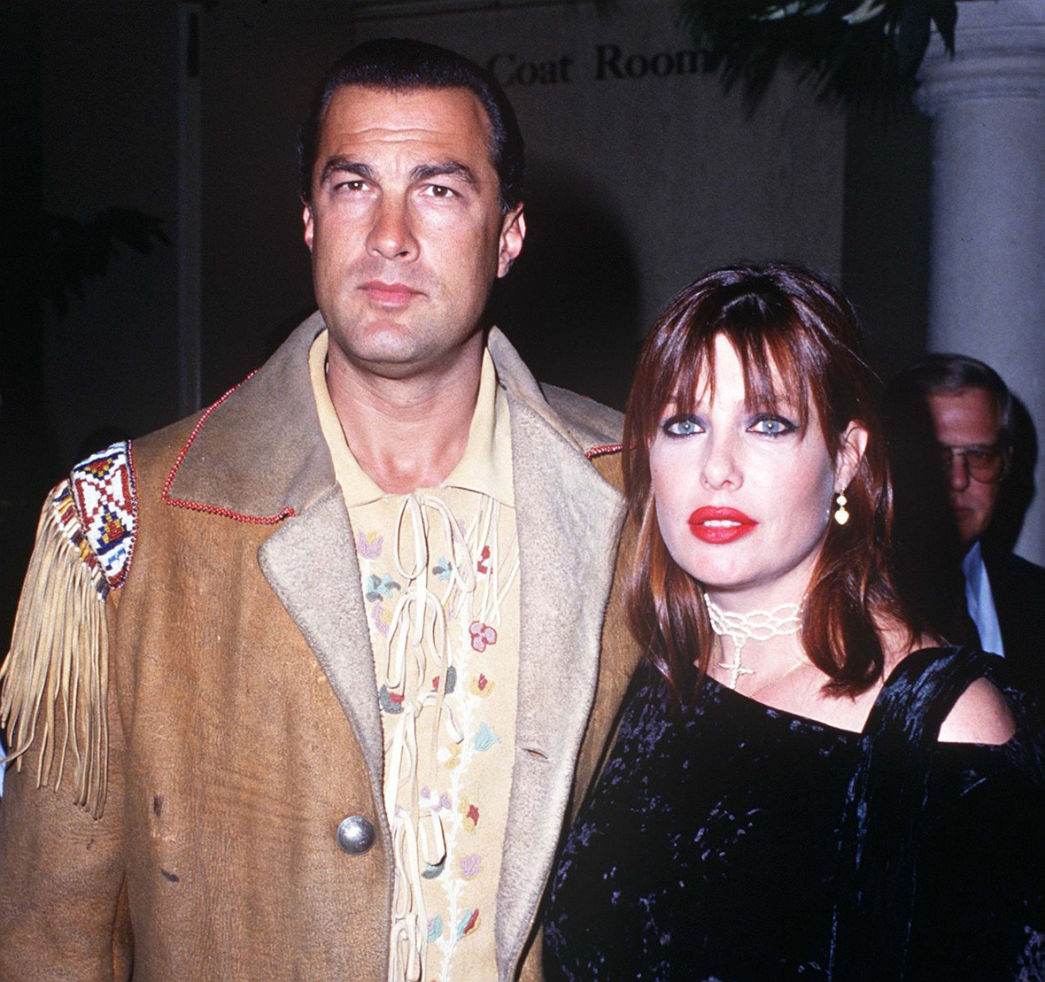 kelly le brock steven seagal getty images