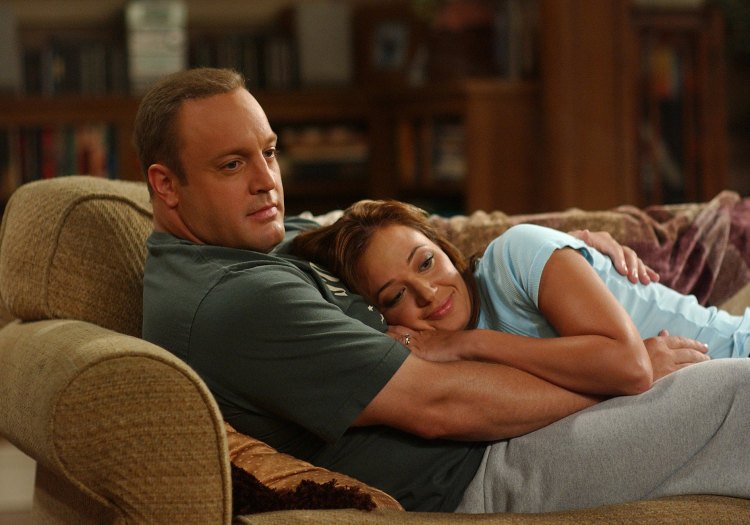 'king of queens' kevin james leah remini getty