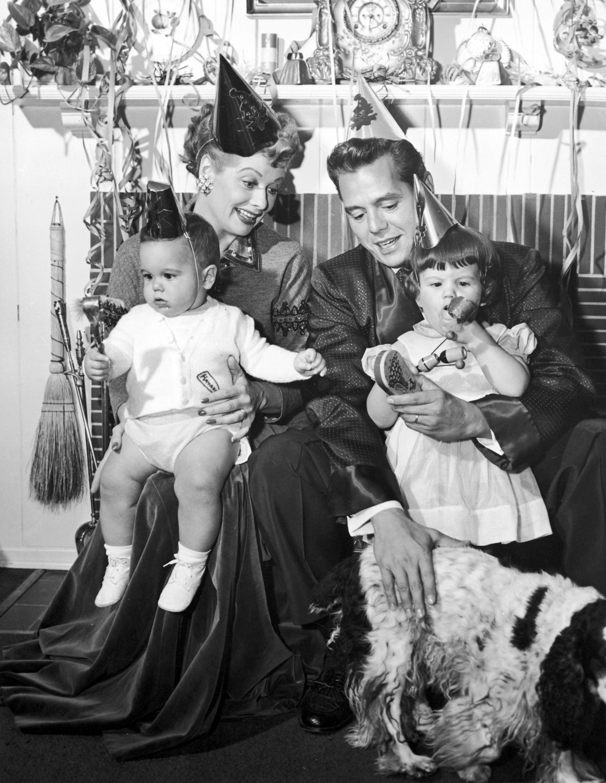 lucille ball and desi arnaz family