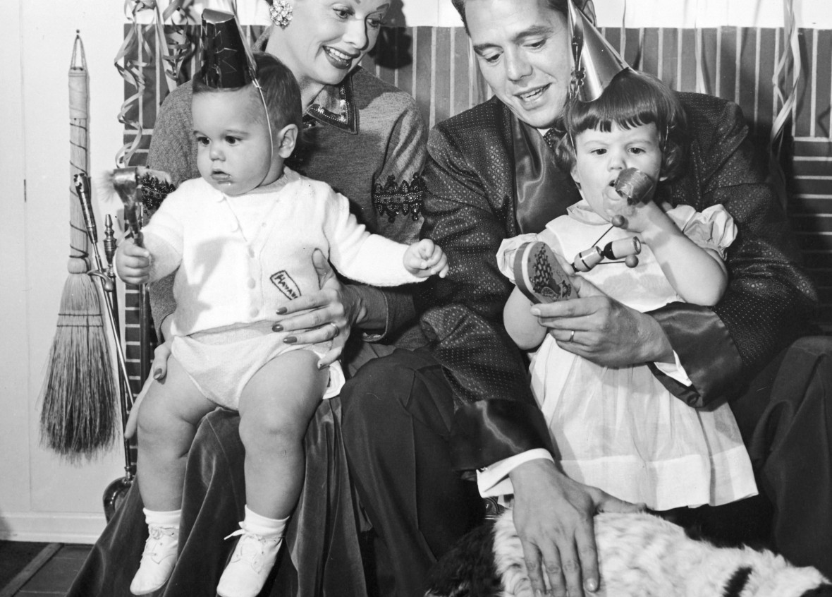 lucille ball and desi arnaz family