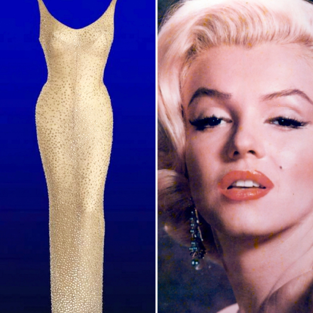 marilyn monroe dress getty images