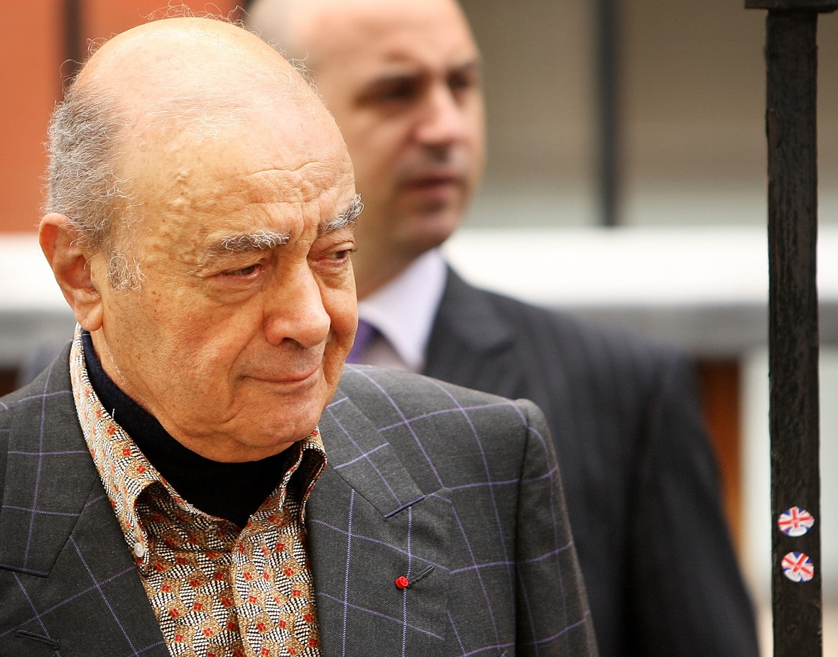 mohamed al-fayed getty images