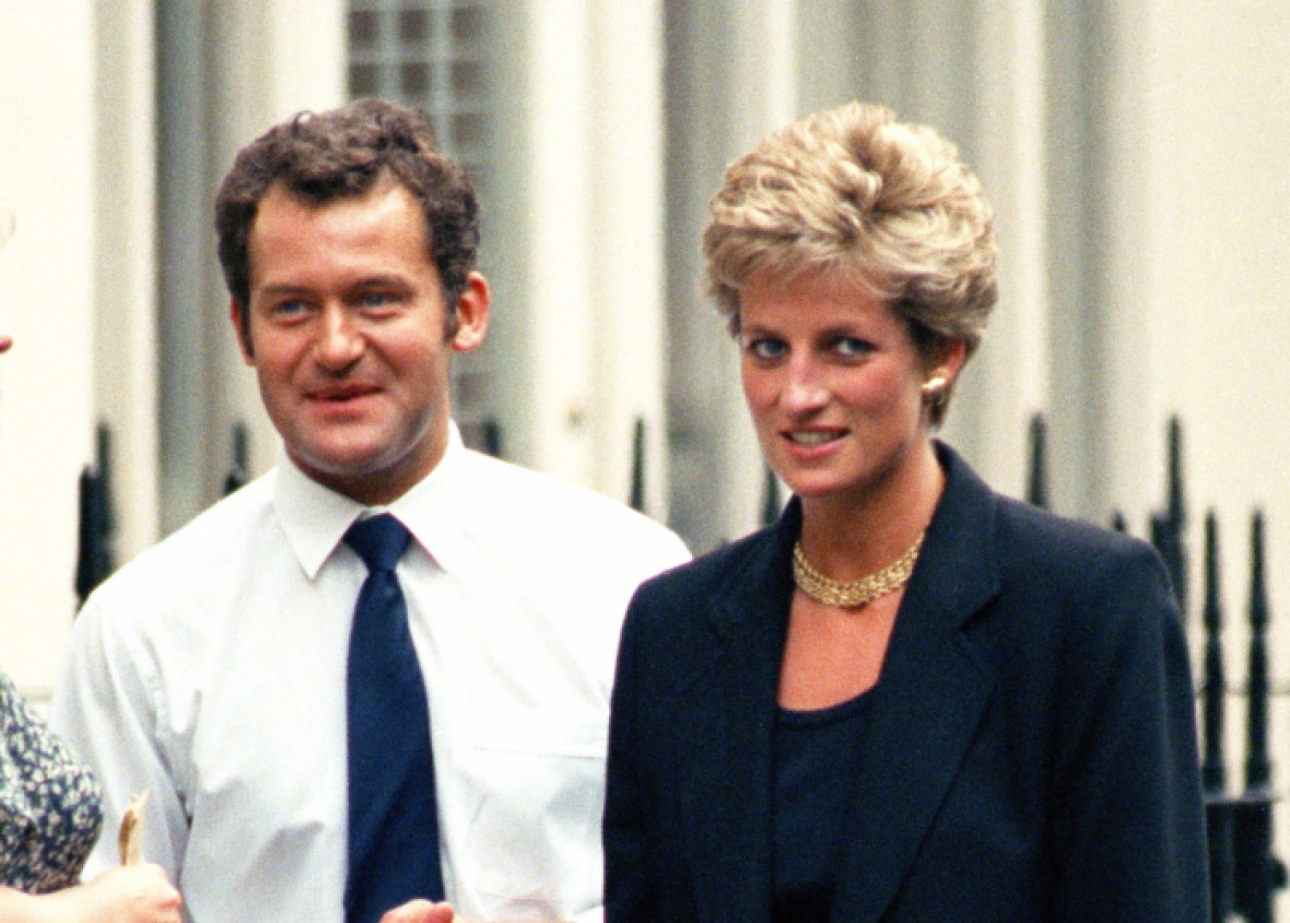 paul burrell princess diana getty images