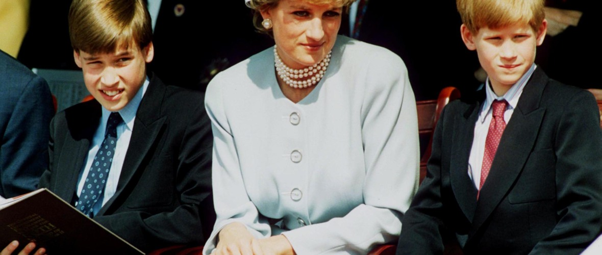 prince william prince harry princess diana getty images