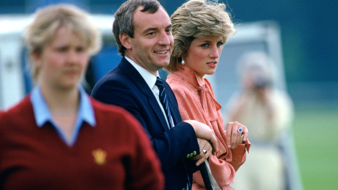 princess diana and barry mannakee getty images