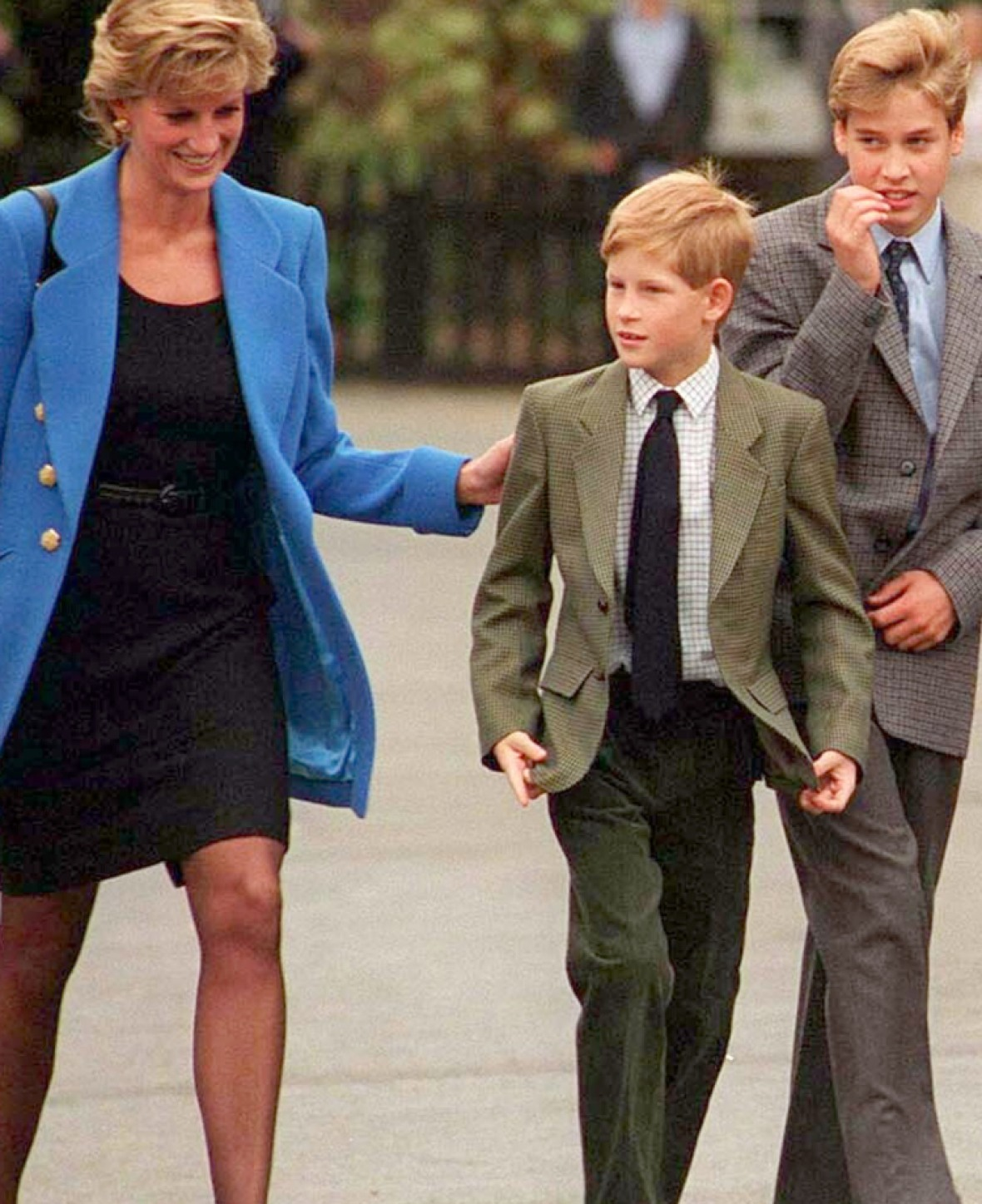 princess diana harry william - getty