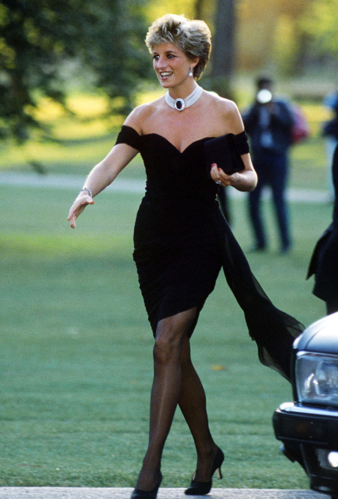 princess diana 'revenge dress' getty