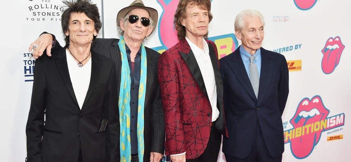 the rollings stones 2016 getty