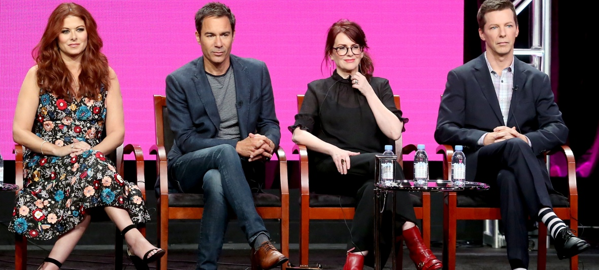 will and grace cast 2017 - getty