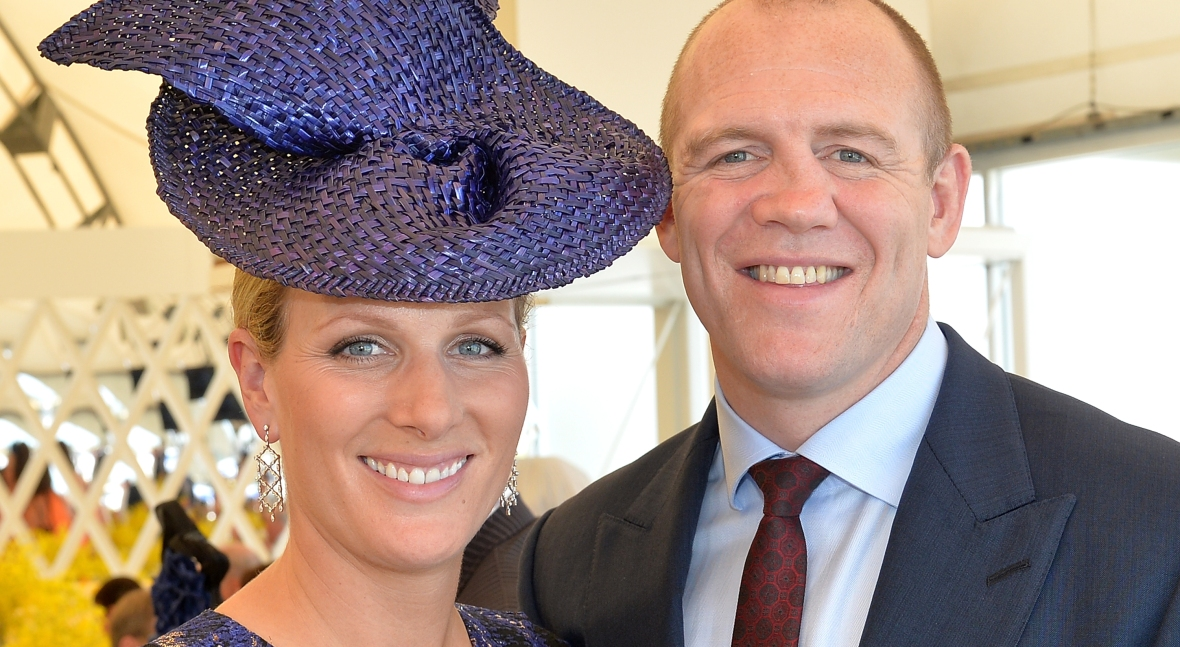 zara and mike tindall getty images