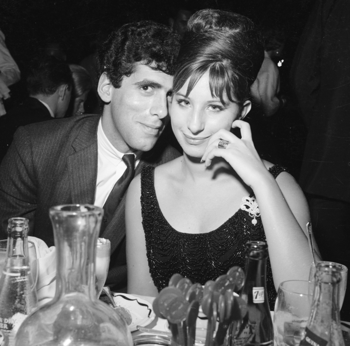 barbra streisand elliott gould getty images