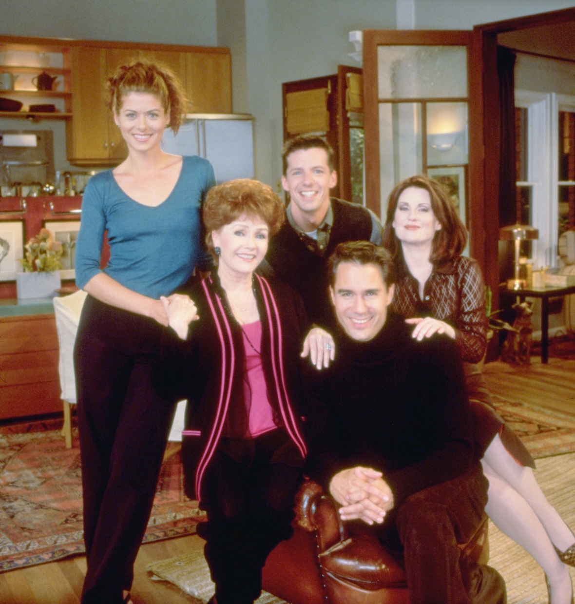 debbie reynolds will and grace - getty