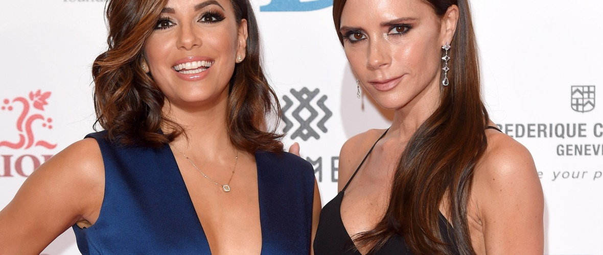 eva longoria victoria beckham getty images